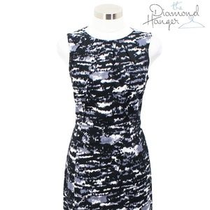 A52 MICHAEL KORS Designer Dress Size 8 Medium M Bl